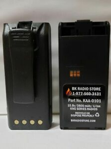 Bk Kaa 0101 3600 Mah Battery For Bk Radio Kng kng2 With Belt Clip 2 Yr