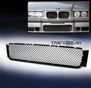 1992 1998 Bmw E36 M3 Front Bumper Lower Center Mesh Abs Grille Grill Replacement