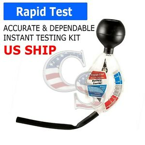 Battery Hydrometer Dial Easy Read Professional Golf Cart Car Deep Cycle Tester