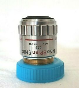 Olympus Objective Neo Splan Nic 5x Infinity Microscope Part Optics