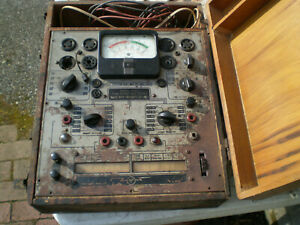 804a Radio City Products Rcp Tube Tester Set Tester Vintage