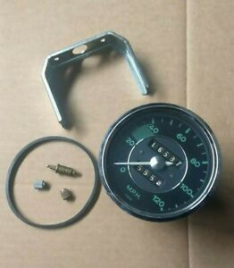 Vdo 356 Porsche Early 120 Mph Speedometer Extra Parts Used