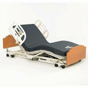 Invacare Cs7 Care Bed Long Term Care Hospital Electric W Mattress