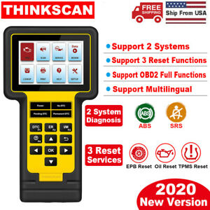 Launch Abs Srs Obd2 Scanner Code Reader Epb Oil Tpms Reset Car Diagnostic Tool