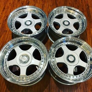 Set Oz Racing 17 Hamann Pg1 Rims 5x112 Mercedes Audi A4 A3 Vw Super Rare