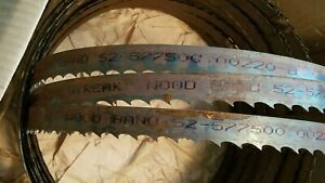Lot Of 4 Simonds Red Streak Wood Bandsaw Blades 52 577500 00220 b Band Saw