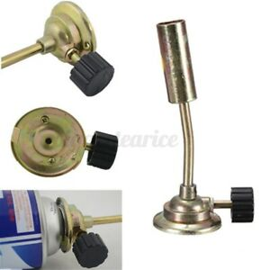 Butane Gas Heating Welding Torch Flame Gun Ignition Lighter For Camping Bbq Tool