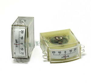 1x Analog Panel Meter 200 0 200ua Military Ussr Current Dc Ammeter M4248