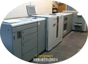 Oce Ultra 6160 Production Copier With 2 Lct Stacker Booklet Maker Plockmatick