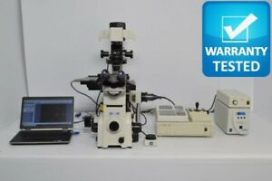 Nikon Te2000 e Inverted Fluorescence Motorized Phase Contrast Microscope