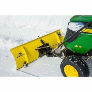 John Deere 46 inch Snow Blade Bg20943 With Chains Weights