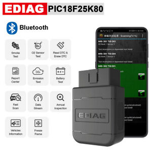 Elm327 V1 5 Obd2 Bluetooth Pic18f25k80 Chip Eobd Car Auto Diagnostic Scanner