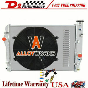 3 Row Aluminum Radiator For 1993 02 94 Chevy Camaro Z28 Pontiac Firebird 5 7l V8