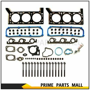 Head Gasket Bolts Set For 04 10 Dodge Volkswagen Chrysler Town Country 3 8l