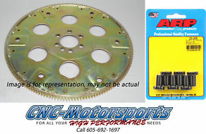 Sbc Chevy 350 Sfi rated Flexplate 168 Tooth 87 99 Block Ext Balance W arp Bolts