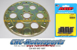 Sbc Chevy 350 Sfi rated Flexplate 153 Teeth Ext Balance 87 99 Block W arp Bolts