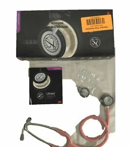 Classic Iii Monitoring Stethoscope Pearl Pink Tube 27in 5633