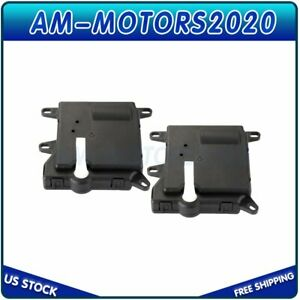 2x For Ford E 150 E 250 Econoline Super Duty Hvac Heater Blend Door Actuator New