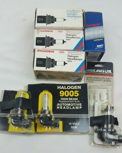 Sylvania Assorted Headlight Bulbs 3 9004 3 9005 1 9007 New In Package