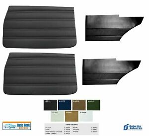 1970 Skylark Custom Door And Quarter Panel Set In Your Choice Of Factory Color