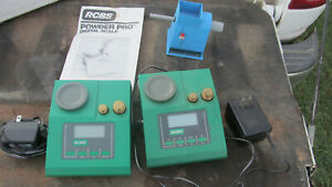 2 RCBS Powder Pro Digital Scales Midway Electronic Powder Trickler Junk Lot $25.00
