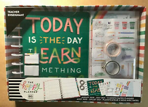 New 2020 2021 The Happy Planner Classic Teacher today Is The Day Box Kit