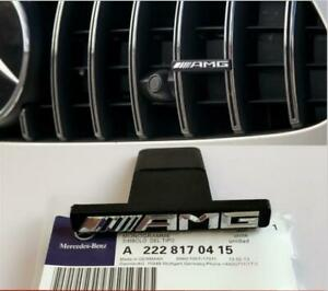 New Front Vertical Strip General Grill Decal Sticker Badge For Mercedes Benz Amg