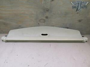11 17 Bmw F25 X3 Rear Trunk Cargo Storage Roller Shade Cover Oem