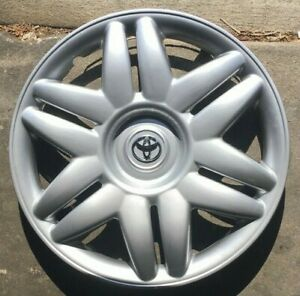 1 X 15 Inch Hubcaps Will Fit Your 2000 2001 Toyota Camry