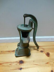 Vintage Cast Iron Hand Water Pump Columbiana Ohio