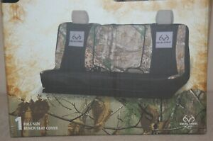 New Realtree Seat Cover Universal Full Sized Bench Xtra Camo Suv Truck Van Rsc50