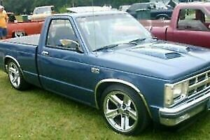 For Chevy S10 1994 2002 Qmi Polished Stainless Steel Fender Trim Molding