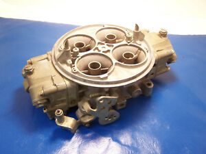 Holley Carburetor Dominator 4500 Series Carb 1050 Cfm 12r 4325b Old 4bbl Used