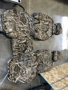 Wet Okole Seat Cover Front Set 2007 5 2013 Chevy Silverado Realtree Max Camo