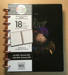 New 2020 2021 Me My Big Ideas Happy Planner Classic Deluxe monthly Florals