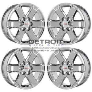 18 Gmc Acadia Pvd Bright Chrome Wheels H Rims Factory Oem 7052 Exchange 2009