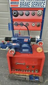 Ammco Brake Lathe Combined For Rotors And Drums Used Like New