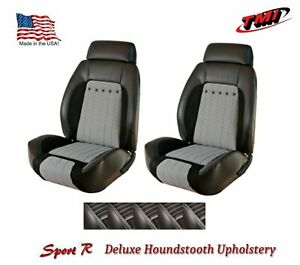 Sport R Deluxe Houndstooth Bucket Seat Upholstery For 1970 Camaro Tmi Products
