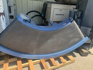 Jantec Ptm 6026 90 curved Power Belt Conveyor Wide 3 Hp 60 Long 26 Wide