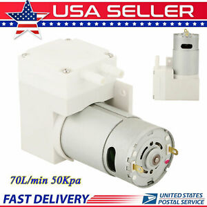 Dc 12v Mini Vacuum Pump Negative Pressure Suction Pump 7 0l min 50kpa Noiseless