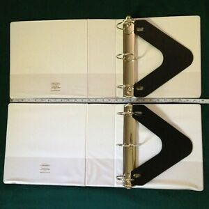 Two Lot 4 Binder With 3 D Rings By Wilson Jones