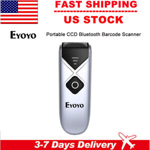 Eyoyo Mini Usb Barcode Scanner Wireless Bluetooth Ccd Screen Scanning Reader Usa