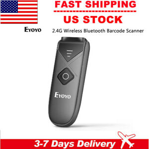 Eyoyo Wireless Bluetooth Barcode Scanner 1d 2d Qr Code Reader For Ios Android Us