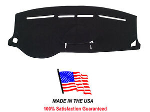 Black Carpet Dash Mat Compatible With 2008 2011 Ford Focus Dash Cover Usa Made
