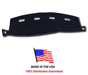 Black Dash Mat Compatible With 2002 2005 Dodge Ram Pick Up Truck 1500 Dash Cover