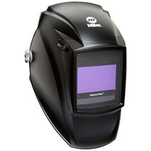 Auto Darkening Welding Helmet Black Digital Elite 3 5 To 8 8 To 13 Lens Sha