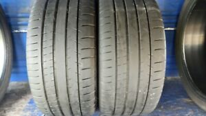 2 Michelin Pilot Super Sport 245 35 Zr18 Bmw With 7 7 5 32nd Tread Left 92 Y