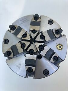 Bison 8 6 jaw Chuck With D1 8 Back