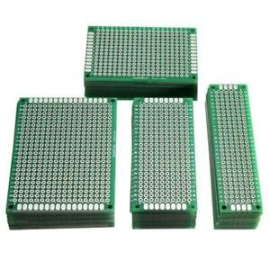 40pcs Fr 4 2 54mm Double Side Prototype Pcb Printed Circuit Board