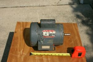 Dayton 1 Hp 3450 Rpm Single Phase Electric Motor